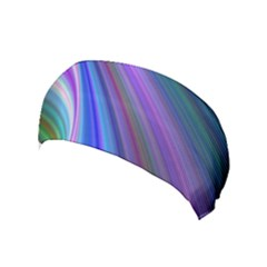 Background Abstract Curves Yoga Headband by Celenk
