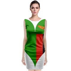 Heart Love Heart Shaped Zambia Classic Sleeveless Midi Dress
