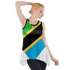 Heart Love Tanzania East Africa Side Drop Tank Tunic by Celenk