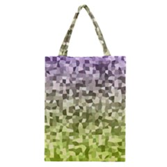 Irregular Rectangle Square Mosaic Classic Tote Bag by Celenk