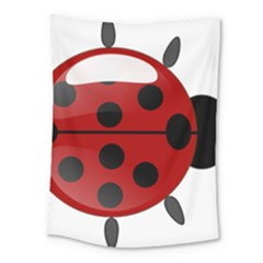 Ladybug Insects Colors Alegre Medium Tapestry