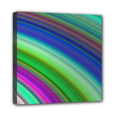 Motion Fractal Background Mini Canvas 8  X 8  by Celenk