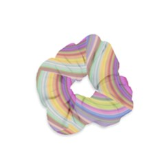 Wave Background Happy Design Velvet Scrunchie