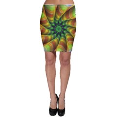 Vision Wallpaper Decoration Bodycon Skirt by Celenk