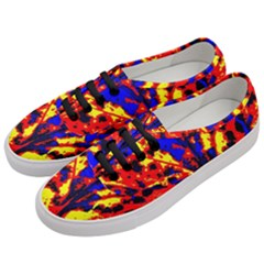 Fire Tree Pop Art Women s Classic Low Top Sneakers by Costasonlineshop
