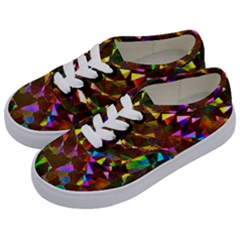 Cool Glitter Pattern Kids  Classic Low Top Sneakers by Costasonlineshop