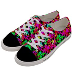Colorful Leaves Women s Low Top Canvas Sneakers by Costasonlineshop