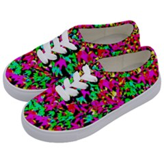 Colorful Leaves Kids  Classic Low Top Sneakers by Costasonlineshop