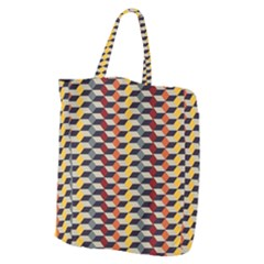 Native American 7 Giant Grocery Zipper Tote by Cveti