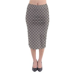 Native American Pattern 2 Midi Pencil Skirt by Cveti