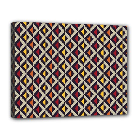 Native American Pattern 5 Canvas 14  X 11  by Cveti