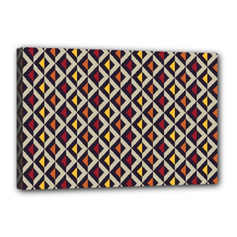 Native American Pattern 5 Canvas 18  X 12  by Cveti
