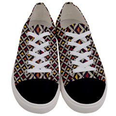 Native American Pattern 5 Women s Low Top Canvas Sneakers