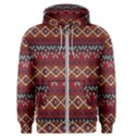 Native American Pattern 8 Men s Zipper Hoodie View1