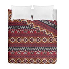 Native American Pattern 8 Duvet Cover Double Side (full/ Double Size)