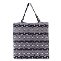 Native American Pattern 9 Grocery Tote Bag by Cveti