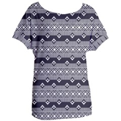 Native American Pattern 9 Women s Oversized Tee by Cveti