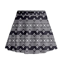 Native American Pattern 9 Mini Flare Skirt by Cveti