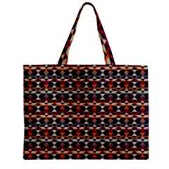 Native American Pattern 14 Zipper Mini Tote Bag by Cveti