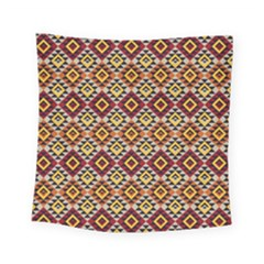 Native American Pattern 15 Square Tapestry (small) by Cveti