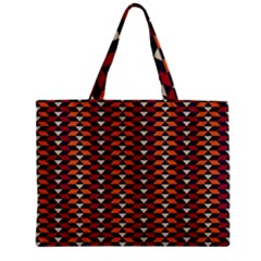 Native American Pattern 19 Zipper Mini Tote Bag by Cveti