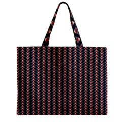 Native American Pattern 20 Zipper Mini Tote Bag by Cveti