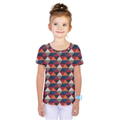 Native American Pattern 21 Kids  One Piece Tee by Cveti