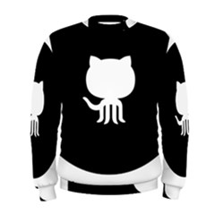 Logo Icon Github Men s Sweatshirt by Celenk