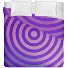 Circle Target Focus Concentric Duvet Cover Double Side (king Size)