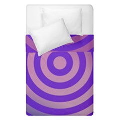 Circle Target Focus Concentric Duvet Cover Double Side (single Size)