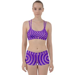 Circle Target Focus Concentric Women s Sports Set