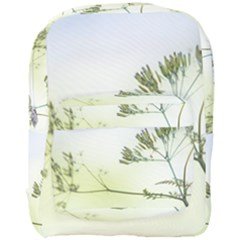 Spring Plant Nature Blue Green Full Print Backpack by Celenk