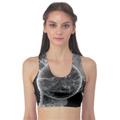 Space Universe Earth Rocket Sports Bra by Celenk
