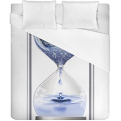 Time Water Movement Drop Of Water Duvet Cover (california King Size)