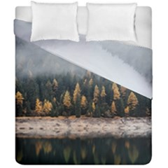 Trees Plants Nature Forests Lake Duvet Cover Double Side (california King Size) by Celenk