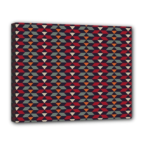 Native American Pattern 23 Canvas 14  X 11