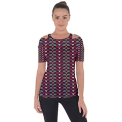 Native American Pattern 23 Short Sleeve Top
