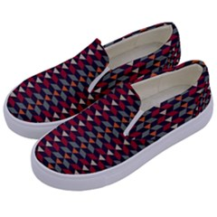 Native American Pattern 23 Kids  Canvas Slip Ons by Cveti