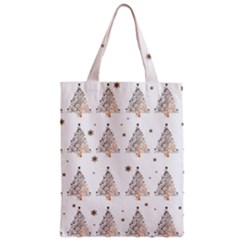 Christmas Tree   Pattern Zipper Classic Tote Bag
