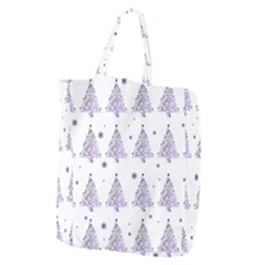 Christmas Tree   Pattern Giant Grocery Zipper Tote by Valentinaart