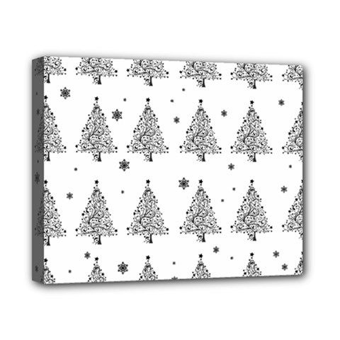 Christmas Tree   Pattern Canvas 10  X 8  by Valentinaart