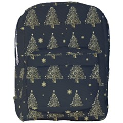 Christmas Tree   Pattern Full Print Backpack by Valentinaart