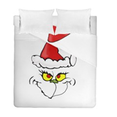 Grinch Duvet Cover Double Side (full/ Double Size)