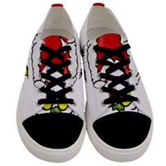 Grinch Men s Low Top Canvas Sneakers