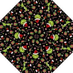 Grinch Pattern Hook Handle Umbrellas (small)