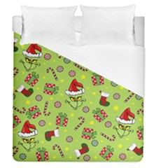 Grinch Pattern Duvet Cover (queen Size)