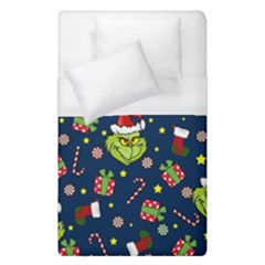 Grinch Pattern Duvet Cover (single Size)