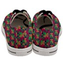 Hexagon-Cube-Bee cell Pink Pattern Men s Low Top Canvas Sneakers View4