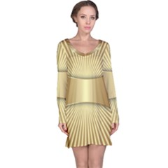 Gold8 Long Sleeve Nightdress by 8fugoso