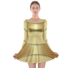 Gold8 Long Sleeve Skater Dress by 8fugoso